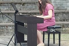 Годишњи концерт ученика издвојеног одељења у Пећинцима, 15.06.2021. године
